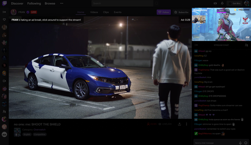 Twitch's new picture-in-picture ad system