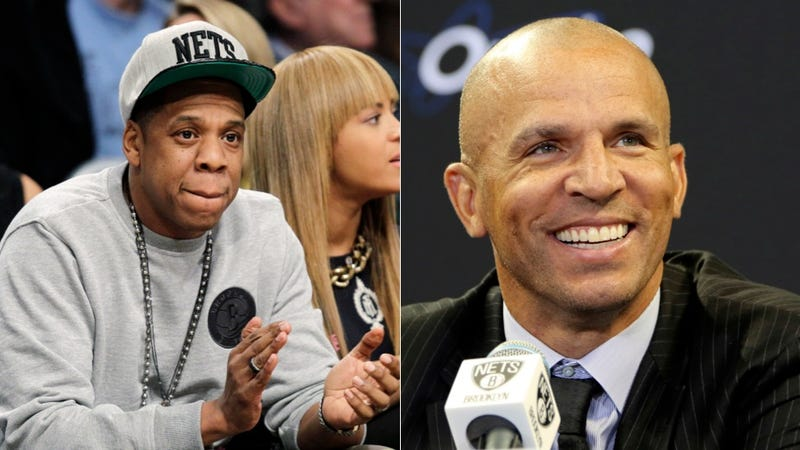 Illustration for article titled Reports: Jay Z Selling Nets Shares To Jason Kidd
