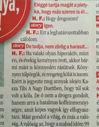 Illustration for article titled Megjelent a legjobb magyar drogos interjú