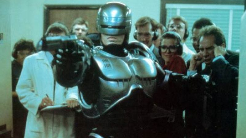 Illustration for article titled RoboCop remake has a writer, is still actually happening