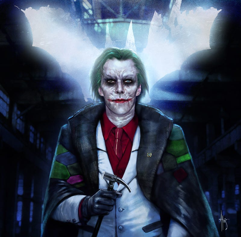Illustration for article titled And now, here's Benedict Cumberbatch as the Joker