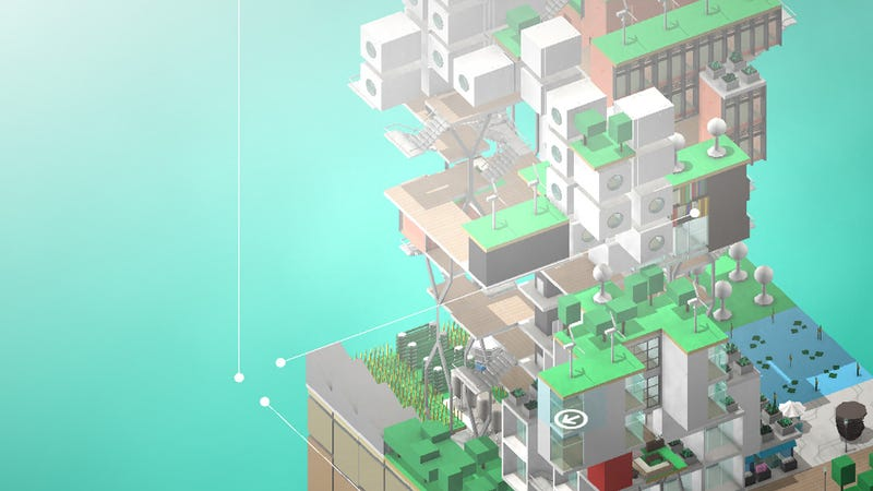 Illustration for article titled Block'hood's Futuristic Cities Look Damn Cool