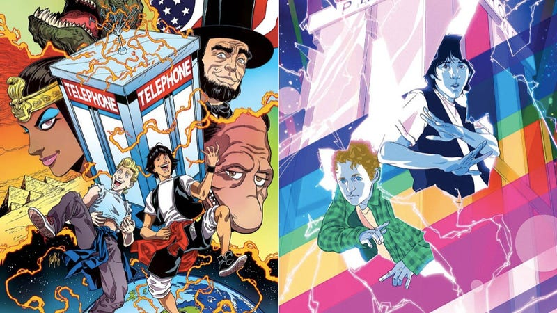 Illustration for article titled Bill & Ted Return In Comic Form And The People Behind It Are Excellent!