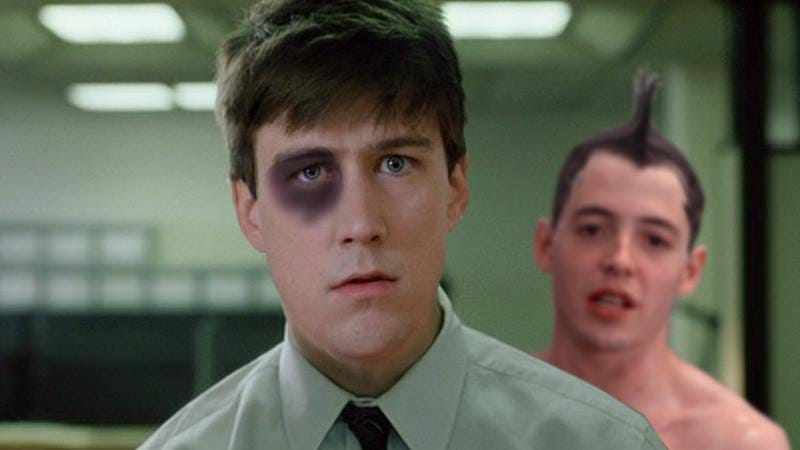 Illustration for article titled Did Ferris Bueller's Cameron grow up to be Fight Club's narrator?