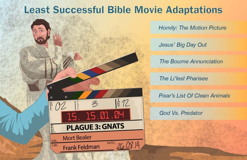 Illustration for article titled Least Successful Bible Movie Adaptations