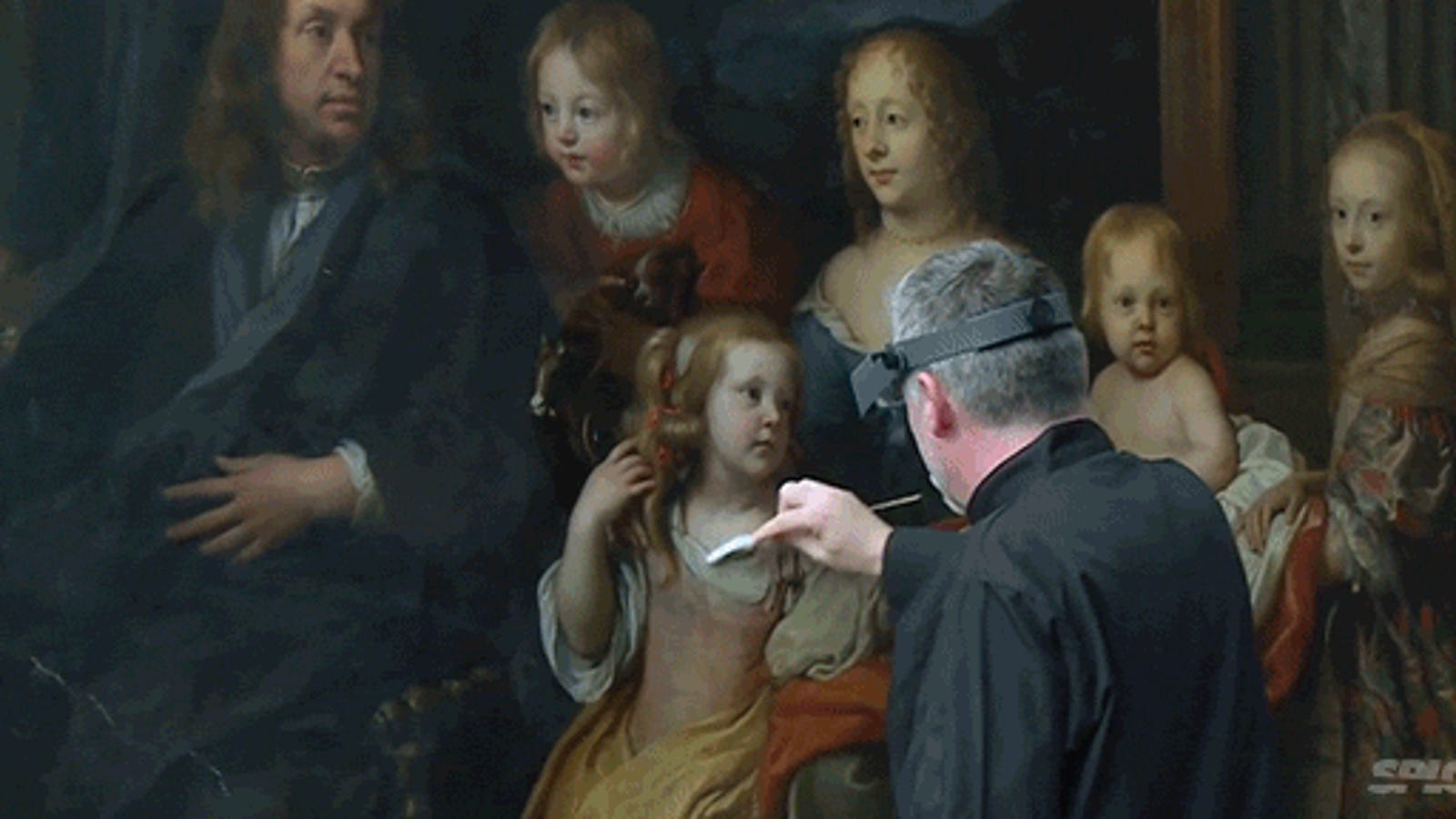 How a museum restores a beautiful painting from hundreds of years ago