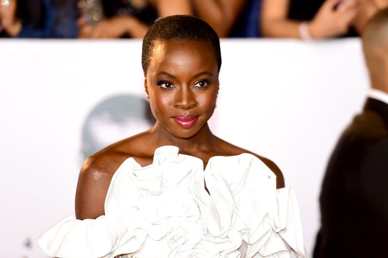 Danai Gurira attends the 49th NAACP Image Awards on Jan. 15, 2018. (Matt Winkelmeyer/Getty Images)