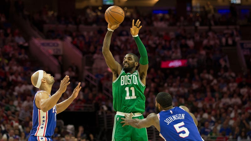 Does Celtics' Kyrie Irving regret shouting obscenity at fan? 'Hell no'