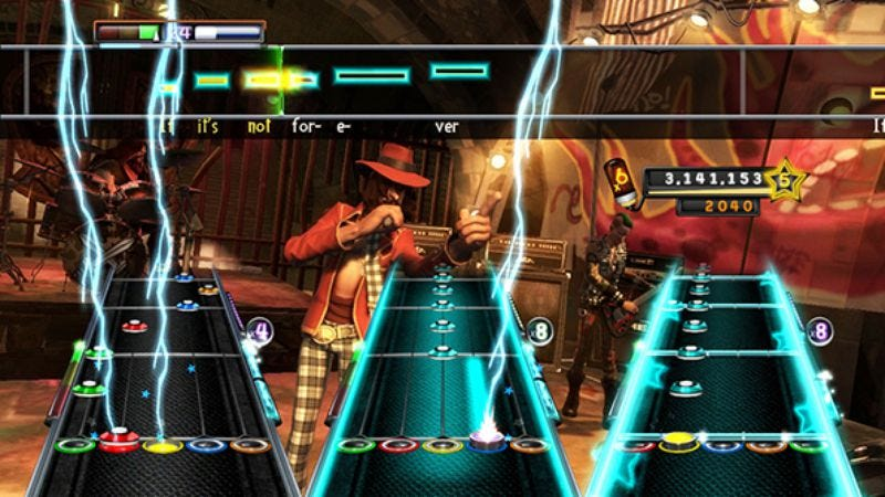 Illustration for article titled Activision releases fullGuitar Hero 5track list