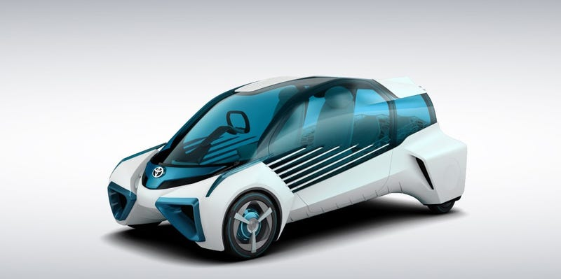 Illustration for article titled The Toyota FCV Plus Is Like An Energy Hot-Spot For Your House