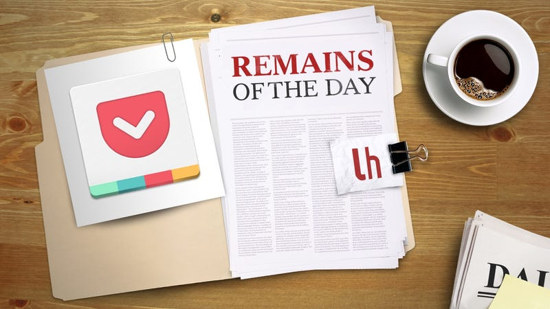 Illustration for article titled Remains of the Day: Pocket Adds 'Likes' and Reposts to Its Social Feed