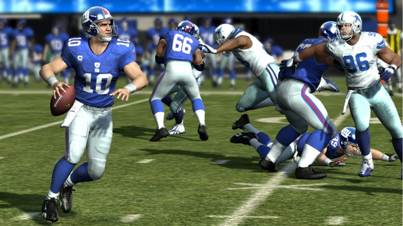 Illustration for article titled Imminent NFL Lockout Does Not Threaten Madden 12's Release