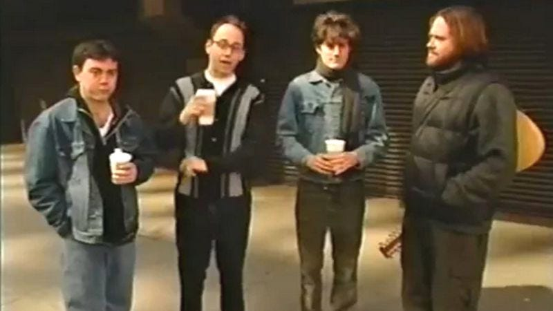 Illustration for article titled David Wain and some State pals try to enter showbiz in a lost video from 2000