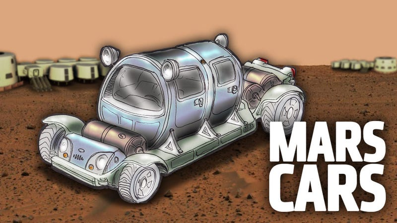 Illustration for article titled How To Build A Car On Mars