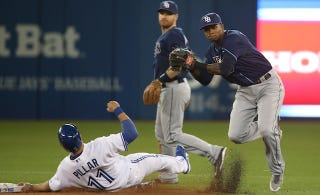 Illustration for article titled MLB Is Reportedly Looking Into The Blue Jays' Weird New Turf