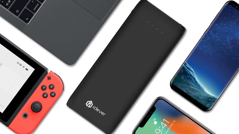 iClever 21,000mAh USB-C PD Battery Pack | $49 | Amazon | Promo code PDCHARGER