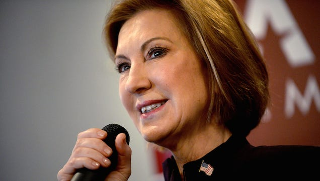 All the Words Carly Fiorina Will Never Say