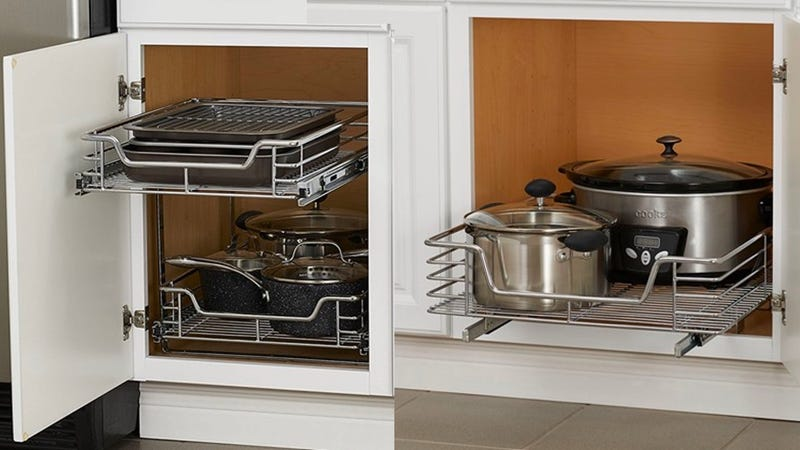Organize Your Kitchen With These Discounted Cabinet Drawer