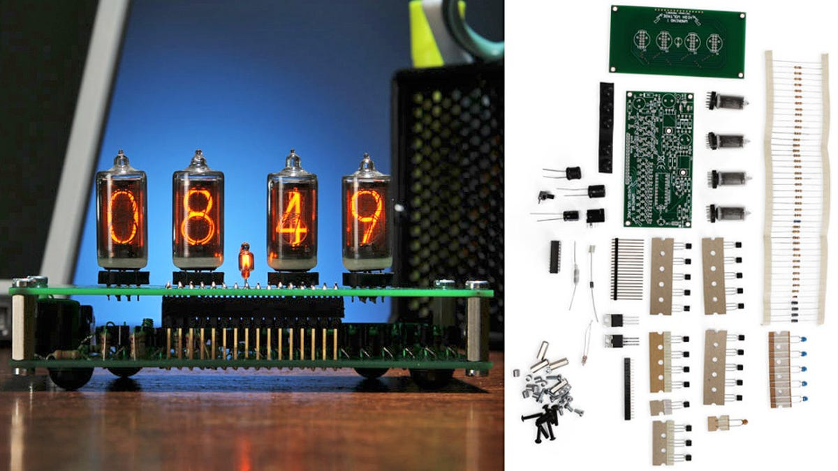 Build An Old Fashioned Nixie Tube Desk Clock Just Like Grandpa Did Schematic Diy Circuit This