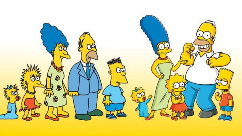 Illustration for article titled The Simpsons will also crossover with The Simpsons