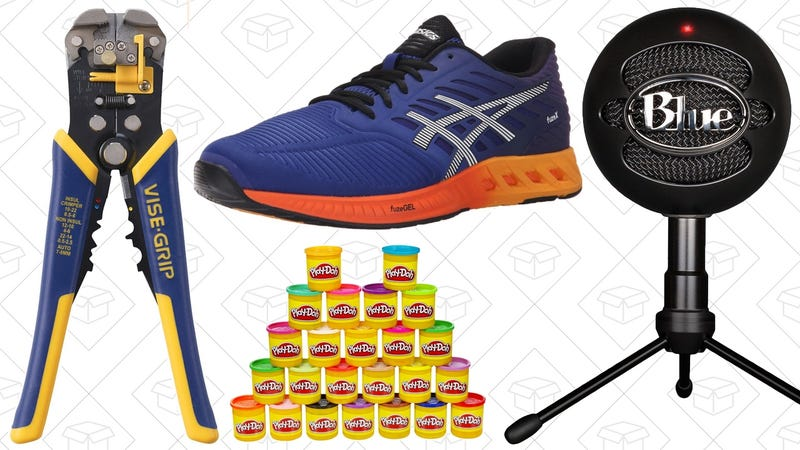 Illustration for article titled Today's Best Deals: Irwin Tools, Asics Shoes, Play-Doh, and More