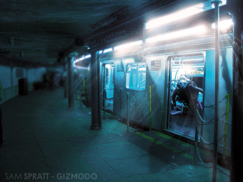 Illustration for article titled New York's Subway May Not Survive Nicole [Updated]