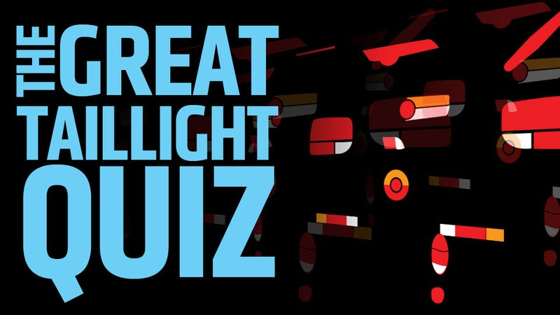 Illustration for article titled Take The Great Taillight ID Quiz!
