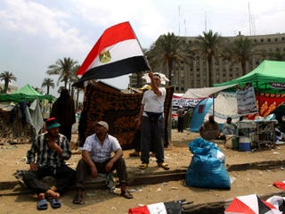 Supporters of Muslim Brotherhood in Egypt (Marwan Naamani/AFP/Getty Images)