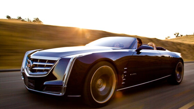 Illustration for article titled Will Cadillac Reveal A New RWD Flagship Sedan At Pebble Beach?