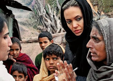 Illustration for article titled Angelina Jolie Pens Piece For The Economist
