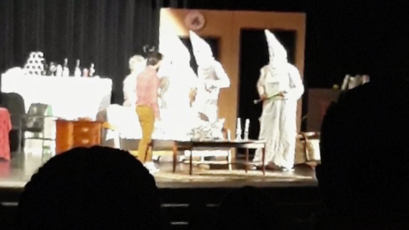 Illustration for article titled Someone Thought a High School Play With Students Wearing KKK Uniforms Was a Good Idea