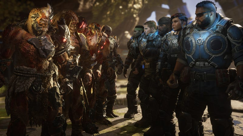 Illustration for article titled Gears 5's Multiplayer Is Very Good, Too