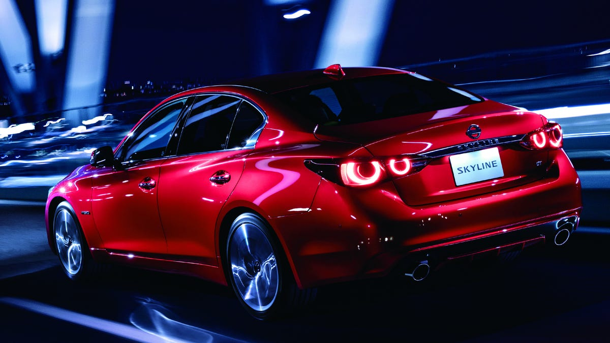 The New Nissan Skyline Is a Japan-Only Q50 with the GT-R's