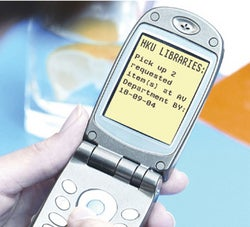Illustration for article titled Random House Sending Books Via SMS