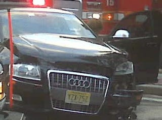 Tom Bradys Wrecked Car Was An Audi Loaner - Audi loaner car