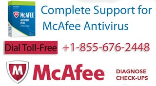 Illustration for article titled Mcafee Support   Phone Number +1-855-676-2448