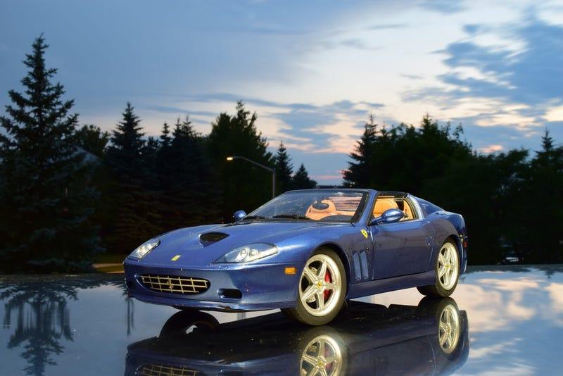 Illustration for article titled Working Top Wednesday: Ferrari 575M Superamerica