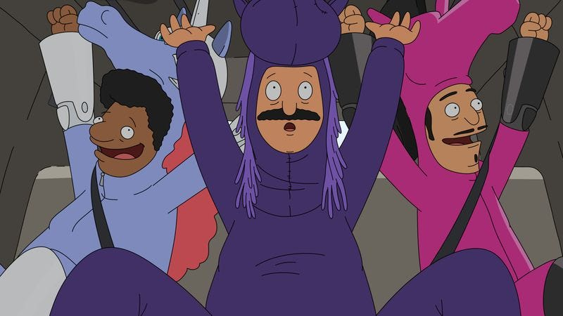 """Illustration for article titled Bob's Burgers: """"The Equestranauts"""""""