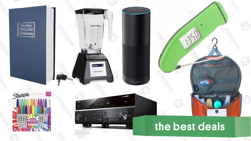 Illustration for article titled Friday's Best Deals: Thermapen, Blendtec, a $9 Book Safe, Dolby Atmos, Sharpies, and More