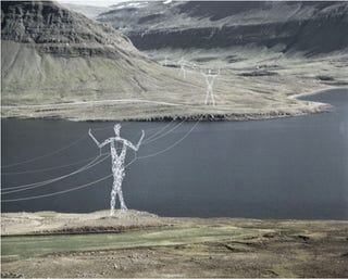 Illustration for article titled Icelandic Pylons Gallery