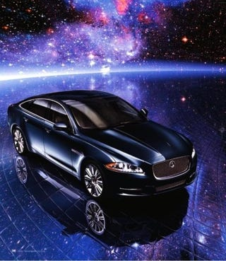 Illustration for article titled 2010 Jaguar XJL Supercharges Into Neiman Marcus Christmas Catalog