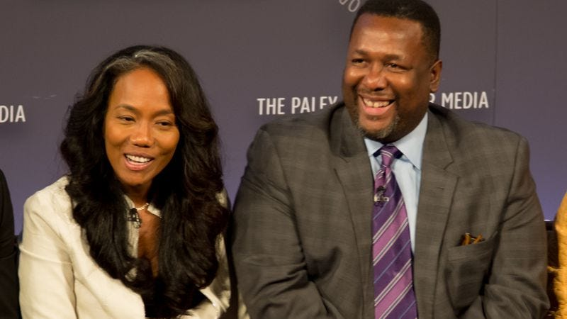 Sonja Sohn and Wendell Pierce (Photo: Getty Images)