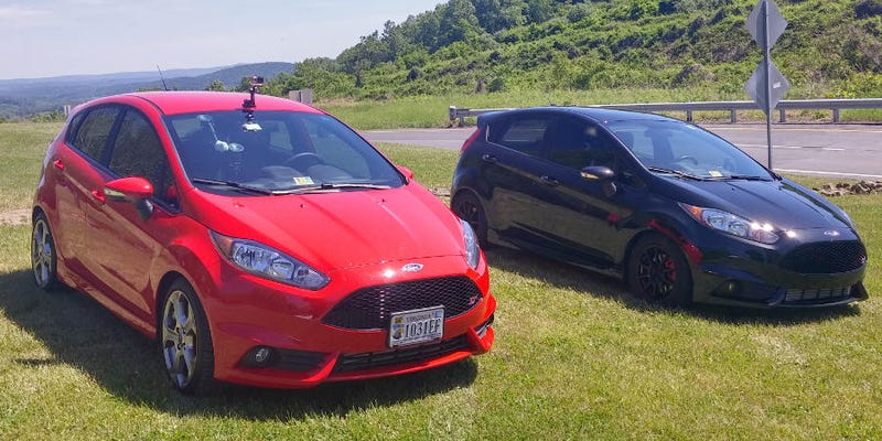 Stock Fiesta St Vs Fully Modified Fiesta St Street Comparison Video