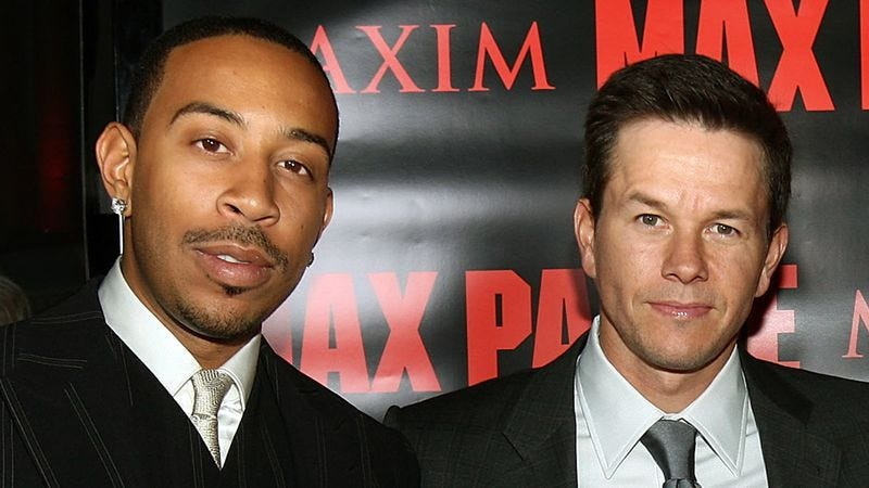 Illustration for article titled Mark Wahlberg and Ludacris