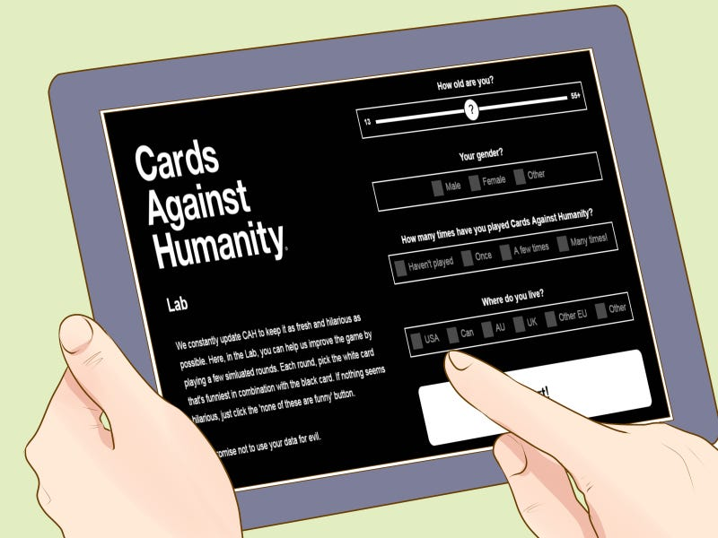 Illustration for article titled CAH