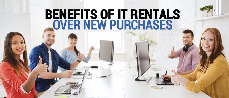 Illustration for article titled Benefits of IT rentals over new purchases Product laptop