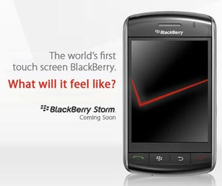 Illustration for article titled Verizon's BlackBerry Storm Sign-Up Page Is Live