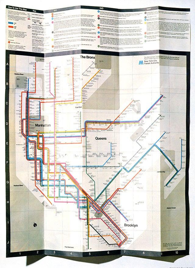 Vineielli Subway Map.Rip Massimo Vignelli The Iconic Designer Who Shaped A Century
