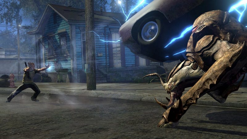 Illustration for article titled Infamous 2 Is A Car-Tossing Stunner