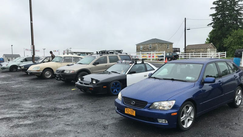 Illustration for article titled Jalopnik Is At The Giant Carlisle Import Car Show, Come Hang Out